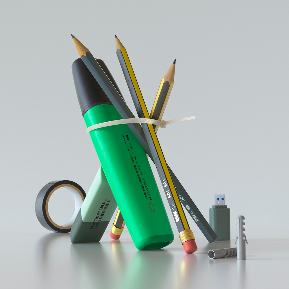 3D Objects - Motion Graphic Design and 3D Still Life