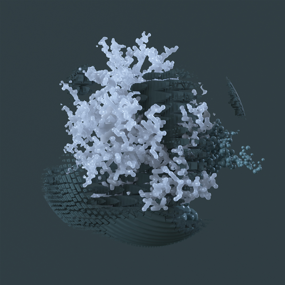 3D particle images generated using the X-Particle