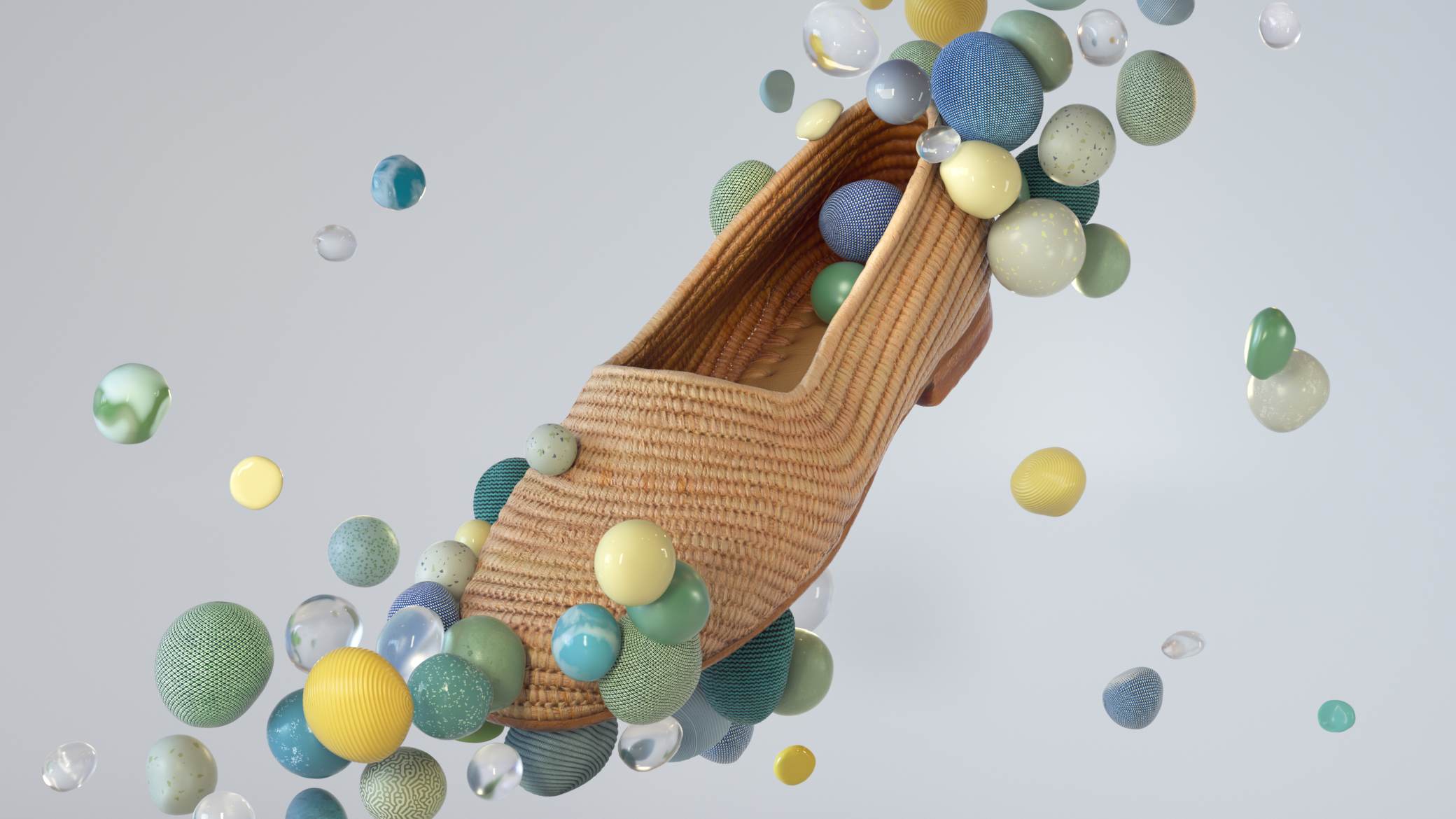 These images are developed from photogrammetric models. After working with c4d and octane render