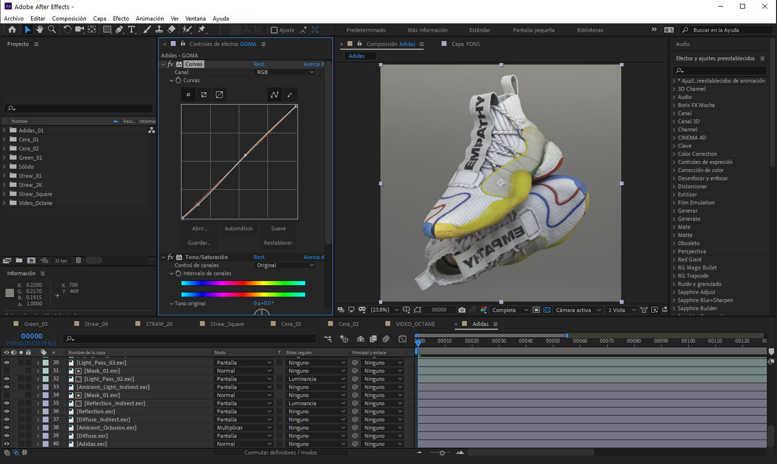3D Rendering - Techniques - After Effects