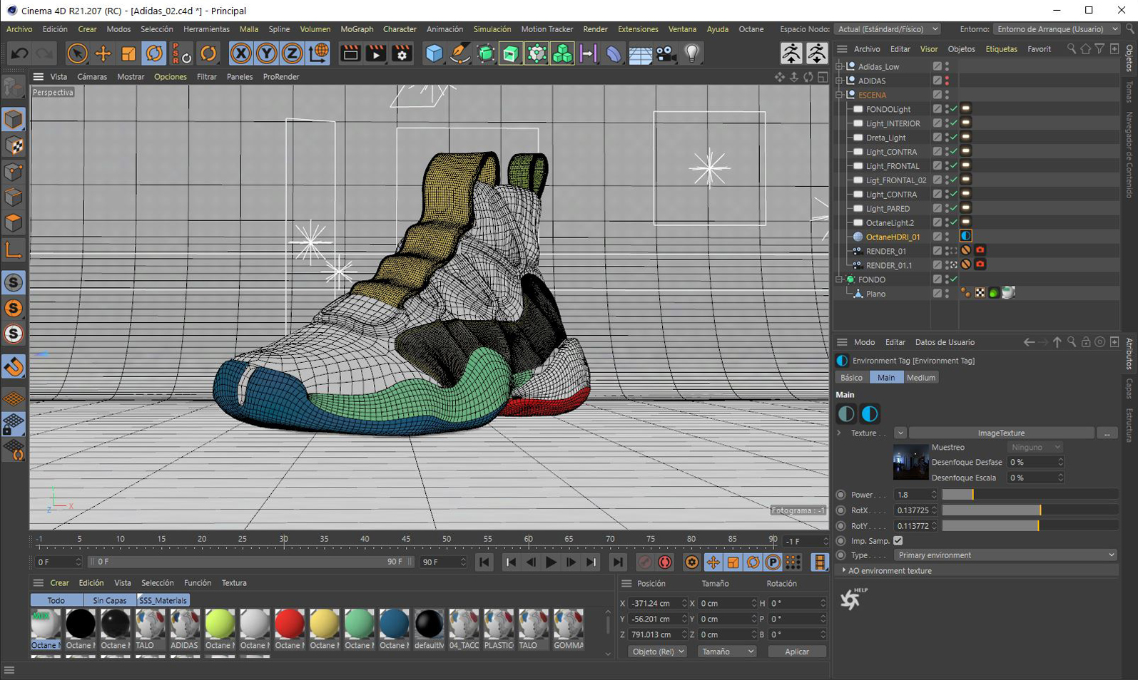 3D modelling software and the latest advances in rendering engines, which allow for greater complexity in 3D images.