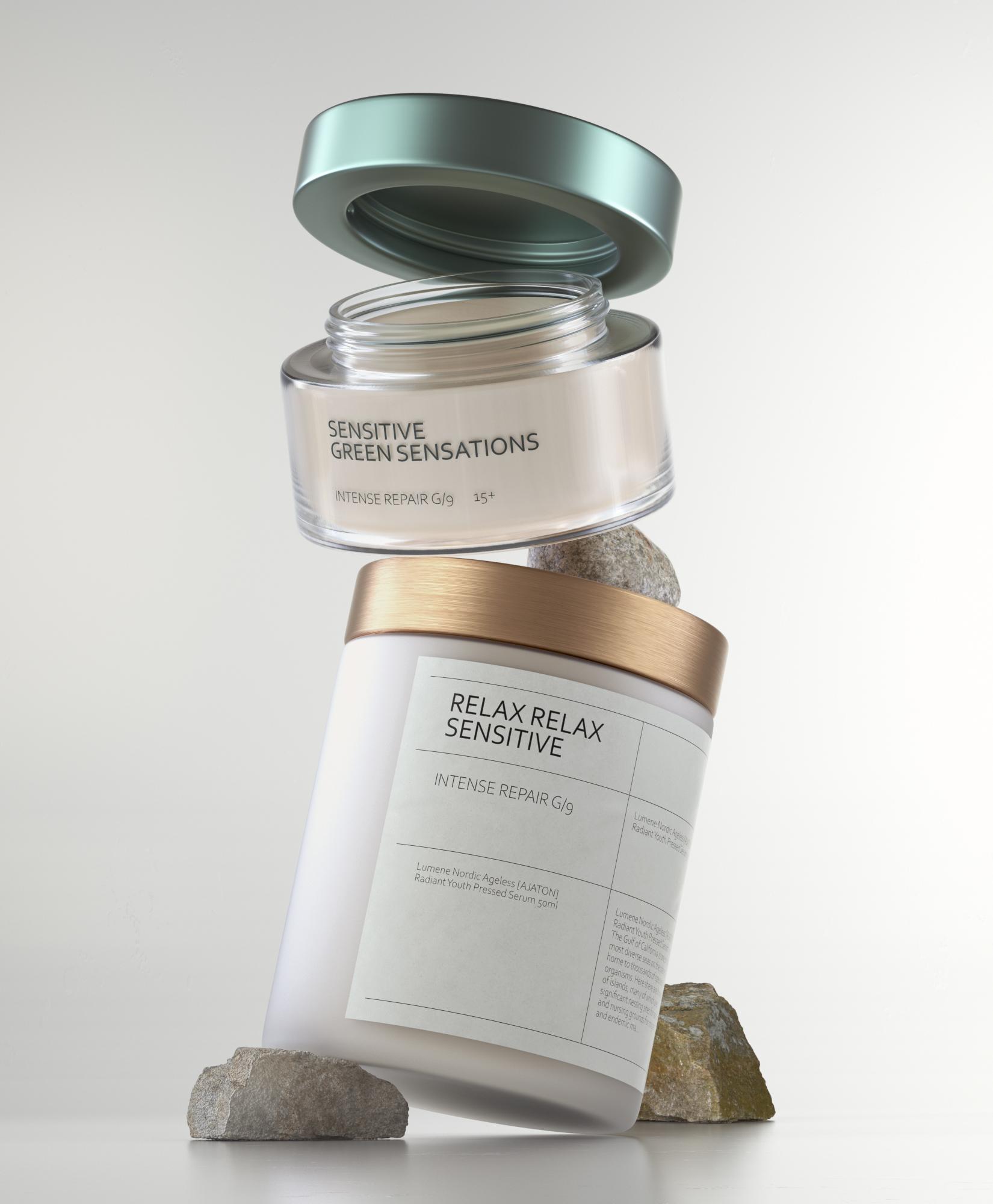 3D Cosmetic Render